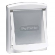 PetSafe Porta per Animali a 2 Direzioni 740 Media 26,7x22,8 cm Bianca 5020