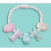 Amscan Egg-stra Special Pastel Easter Egg & Bunny Bracelet Party Favor 5 Multicolor