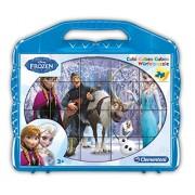 Clementoni 42430 - Valigetta Frozen, 24 Cubi