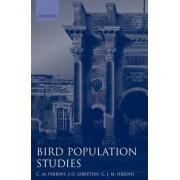 Bird Population Studies by C. M. Perrins