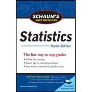 Schaum's Easy Outline of Statistics by David P. Lindstrom