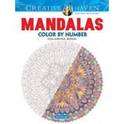 Creative Haven Mandalas Color by Number Coloring Book by Shala Kerrigan