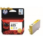 HP CZ112AE (655) Yellow eredeti tintapatron (1 év garancia)