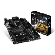 Micro-Star International Msi Intel Z270 Pc Mate Lga 1151 Atx Motherboard