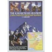 Wegenkaart - landkaart The Karakoram Highway | KKH - open road guides