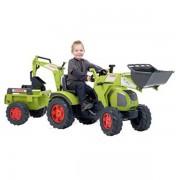 Tractor Falk Claas Axos cu remorca