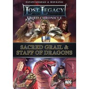 Alderac Entertainment Group - Gioco di carte Lost Legacy 3rd Chronicle Sacred Grail and Staff of Dragons [lingua inglese]