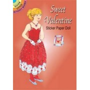Sweet Valentine Sticker Paper Doll by Barbara Steadman