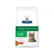 Hill's Prescription Diet r/d Weight Reduction Chicken Flavor Dry Cat Food, 4-lb bag
