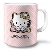 Hello Kitty mintás bögre