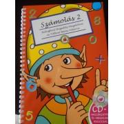 Számolás Firka manóval 2- Könyv + CD 8-9 éveseknek