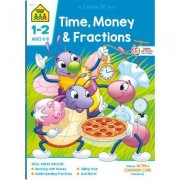 Time, Money & Fractions Grades 1-2 by Ph.D. Barbara Bando Irvin