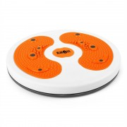 Klarfit myTwist Body Twister, ротана, масажор за крака, оранжев (FIT13-myTwist-Orange)