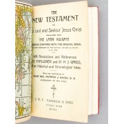 The New Testament Of Our Lord And Savior Jesus Christ, Translated From The Latin Vulgate, Dilignetly Compared With The Original Greek, And First Pu