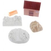 Magideal 75 Pcs Miniature Plastic Farm Yard Animal Toys Figurine Toy Sets For Kids