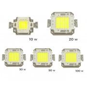 Pack 2 Piastrine Led ricambio fari led luce FREDDA 6500 k da 10-20-30-50 o 100 watt