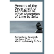 Memoirs of the Department of Agriculture in India by Pusa Agricultural Research Institute