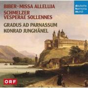 Konrad Junghnel - Biber, Schmelzer: Missa Alleluja / Vespe (0886975686520) (1 CD)