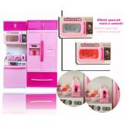 101788 Mini cucina moderna con effetti luminosi e sonori con tanti accessori La mia splendida cucina