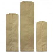 Pint Paper Liquor Bag, 35lb Kraft, Standard 3 3/4 X 2 1/4 X 11 1/2, 4000 Bags