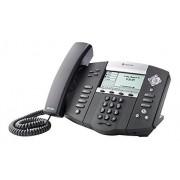 Polycom 2200-12360-025 Teléfono fijo IP (LCD 102 x 33p, RJ45, HTTPS) color negro