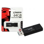 Pen USB Kingston 64Gb Data Traveler 100 G3