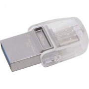 Kingston 32GB DataTraveler microDuo 3C USB 3.0 / 3.1 Type-C OTG Flash Pen Drive