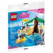 ЛЕГО Дисни Принцеса - мини фигурка снежния Олаф летни емоции 48 части в оригинална опаковка, Lego Disney Princess Frozen Olaf, 30397