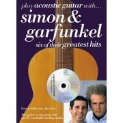Paul Simon Play Acoustic Guitar With... Simon And Garfunkel. Partitions, CD pour Tablature Guitare(Symboles d'Accords)