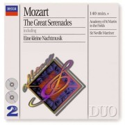 W. A. Mozart - Great Serenades (0028946402221) (2 CD)