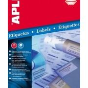 Водоустойчиви полиестерни етикети, матово прозрачни, за L/C, А4