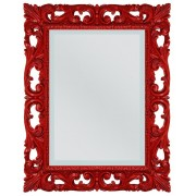 Miroir design rouge