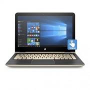"HP Pavilion x360 13-u002nc, Core i3-6100U dual, 13.3"" FHD Touch, Intel HD, 4GB, 500GB 5.4+8GB NAND, W10, Gold"