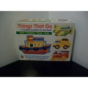 Things That Go-4 Shaped Puzzles in One Box!