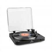 Auna TT-30 BT, gramofon negru, emițătoare Bluetooth, line-Out, Adaptor RCA USB (TTS10-TT-30 BT BK)