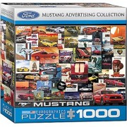 EuroGraphics Ford Mustang Vintage Ads Small Box Puzzle (1000 Pieces)