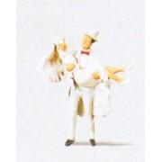 Groom Carrying Bride HO Preiser Models