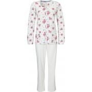 Pastunette Witte doorknoop pyjama van Pastunette