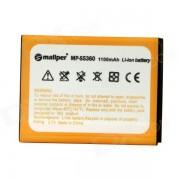 "Mallper 3.7V ""1100mAh"" batterie Li-ion pour Samsung Galaxy Y S5360 - Orange"