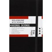Moleskine City Notebook HONG KONG Couverture rigide noire 9 x 14 cm