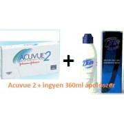 Acuvue 2 (6db) + DUA Elite 360 ml ápolószer