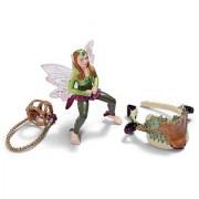 Schleich Forest Elf Riding Set