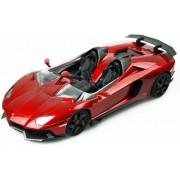 Racetin Lamborghini Aventador J - RC Auto - 1:16 - Rood Metallic