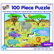 Galt Toys - Safari Puzzle, Multicolore (100-Piece)