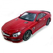Maisto Maisto Power Kruzerz 45 Inch Pull Back Action - Mercedes-Benz Sl 500 Diecast Model Car (Red)