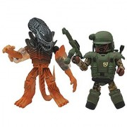 Diamond Select Aliens Minimates Series 2 Pvt. Frost & Burning Warrior Alien 2 Minifigure 2-Pack by Unknown