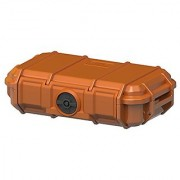 Seahorse Protective Equipment Cases Watertight Keyed Plastic Lock Camera Case Orange (SE56 OR)