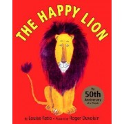 Happy Lion by Louise Fatio