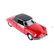 Citroen DS 19 rojo Cabriolé 1:24 Welly