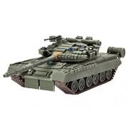 Revell 03106 - Soviet Battle Tank T-80BV Kit di Modello, in Plastica, in Scala 1:72